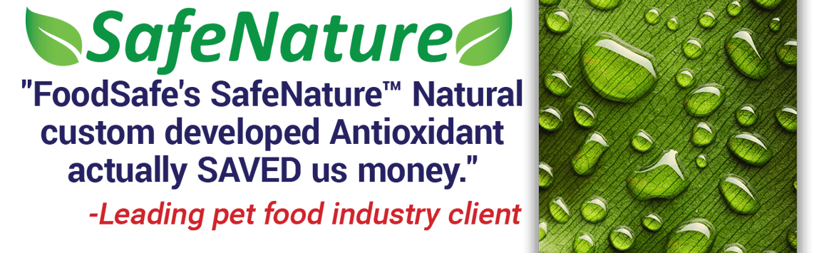 SafeNature Natural Antioxidants save you money.